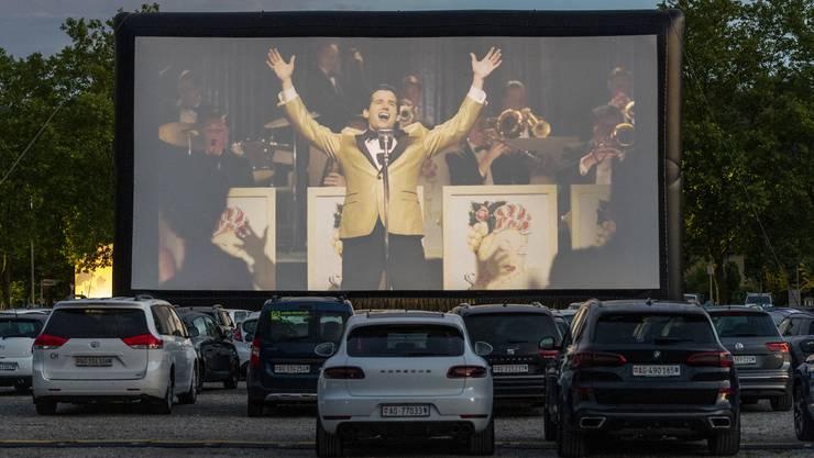 Vom 7. bis zum 12. Juli gibt es im Aarauer Schachen das «Allianz Drive-in Cinema». (Archivbild)