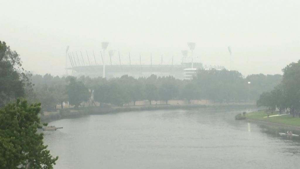 Luft in Canberra durch Rauch gefährlich verschmutzt