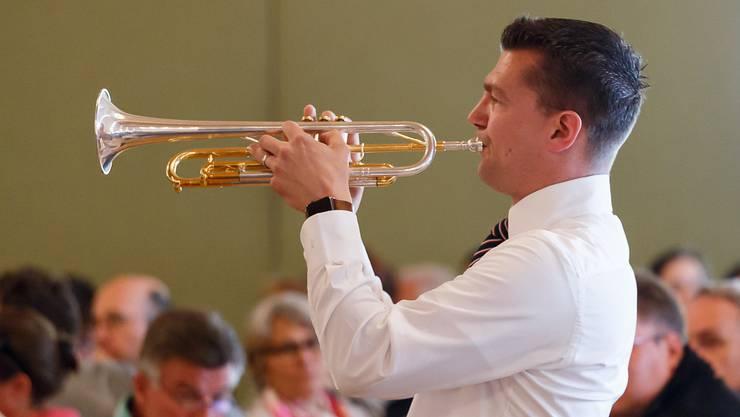 Markus Otto ist leidenschaftlicher Trompeter.
