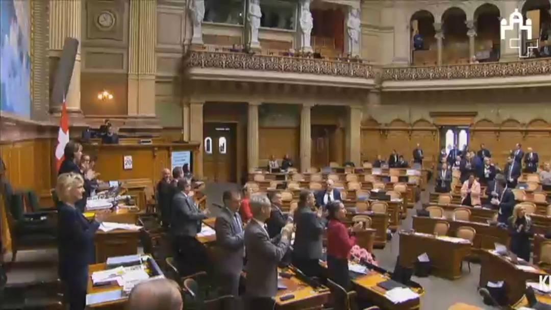 Aus Protest: SP und Grüne verlassen Nationalratssaal