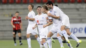 Der FC Wohlen darf in Schaffhausen mit einem Punkt zufrieden sein.