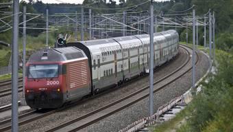 Im waadtländischen Panex sind zwei Züge kollidiert. (Symbolbild)