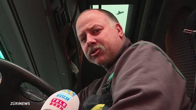 Schweizer LKW-Fahrer haben Angst