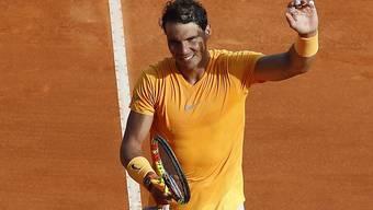 Rafael Nadal glänzt und strahlt auch im Duell mit Dominic Thiem