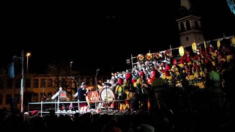 Auch beim Guggenkonzert Waldenburg wurden urheberrechtlich geschützte Lieder gespielt.