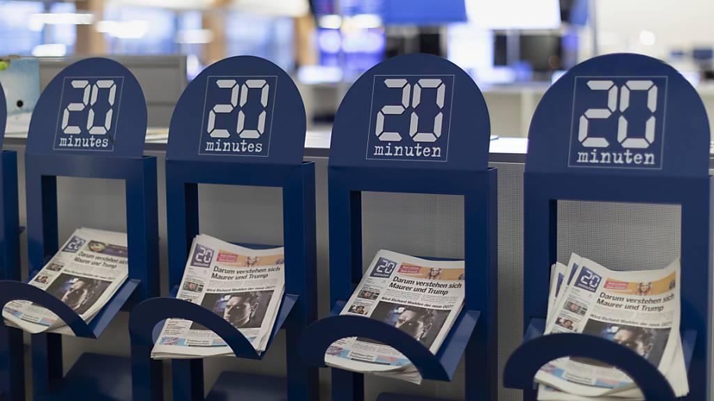 20 Minuten nicht mehr an dänischer Pendlerzeitung beteiligt