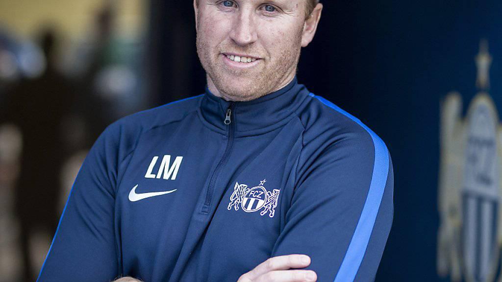 Trainer Ludovic Magnin will mit dem FCZ den Cup-Halbfinal gegen Basel gewinnen