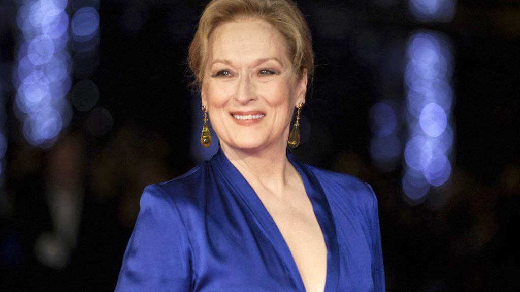 US-Schauspielerin Meryl Streep sieht im Tragischen immer auch etwas Komisches - und umgekehrt. (Archivbild)