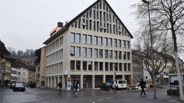 In den drei Obergeschossen an der Schulthess-Allee 1 in Brugg befinden sich die Büros des Verbands Soziale Dienstleistungen. MHU