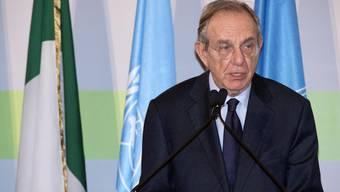 Italiens Finanziminister Pier Carlo Padoan teilt in einer Pressmitteilung mit: «Die Behörden der Schweiz und Italiens wollen auch Gruppenanfragen zu geschlossenen Konten ermöglichen.»