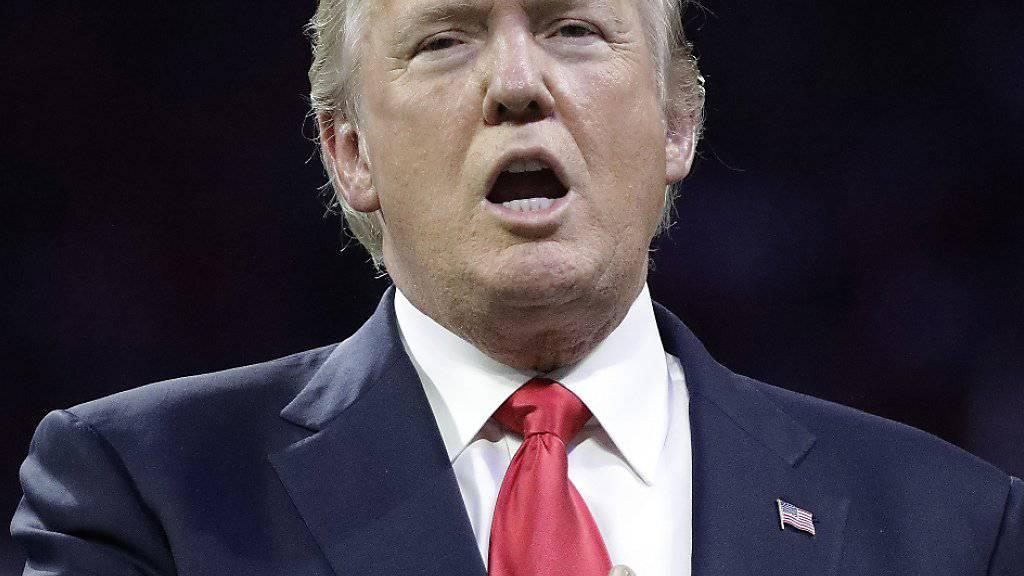 US-Präsident Donald Trump mag nicht mit den Philadelphia Eagles feiern