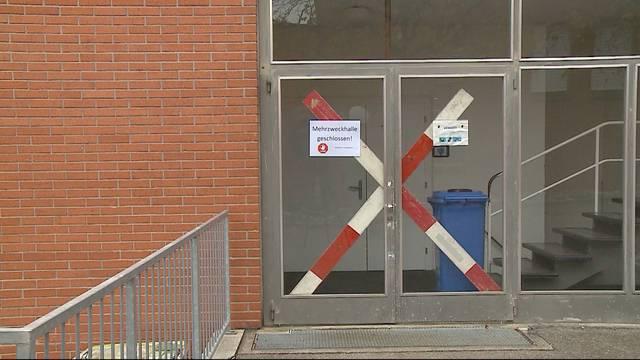 Mehrzweckhalle in Untersiggenthal nicht mehr einsturzgefährdet