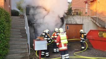 Der Brand verursachte einen Sachschaden von mehreren tausend Franken