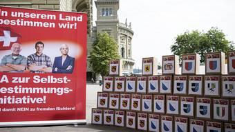 Die reformierten Kirchen Bern-Jura-Solothurn zeigen sich besorgt über Absichten der Selbstbestimmungsinitiative.
