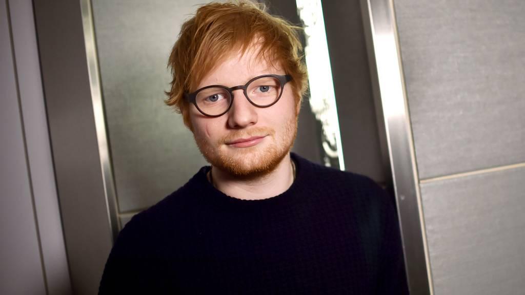 Ed Sheeran hatte Velounfall