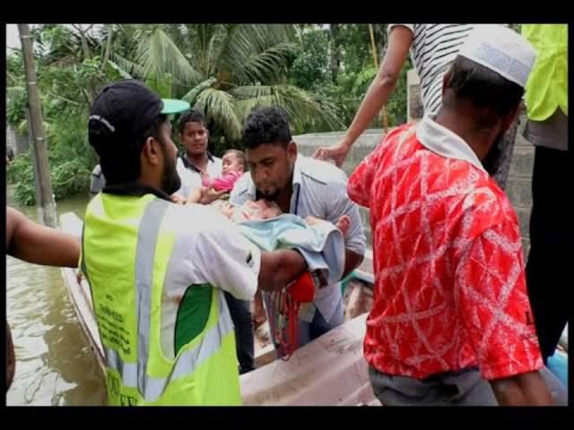 Flut in Colombo