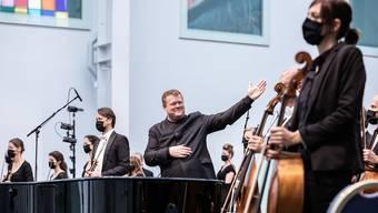 Das erste Abo-Konzert von Argovia Philharmonic fand im September in Baden statt.