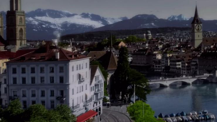 Den Zürcher Alpen erstaunlich nah.
