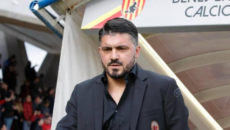 Das erste Spiel für Gennaro Gattuso als Milan-Trainer fand in Benevento statt
