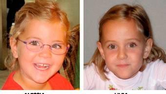 Die beiden vermissten Zwillinge Alessia und Livia.  Key
