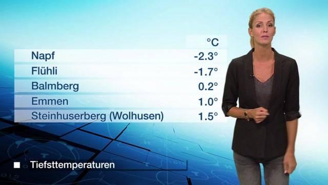 Tele M1-Wetter vom Donnerstag, 6. Oktober 2016