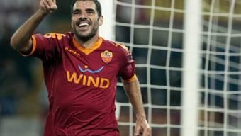Simone Perrotta erzielte den zweiten Treffer für die Roma
