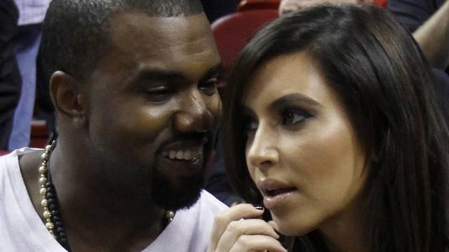 Kanye West und Kim Kardashian werden ledige Eltern (Archiv)