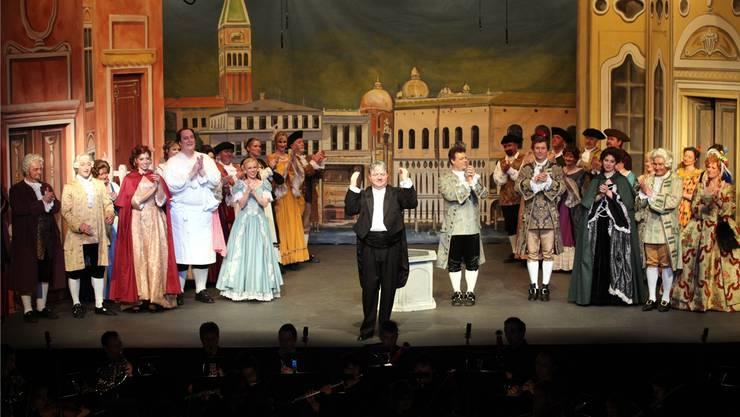 Das war 2011: An der Classionata Mümliswil wurde «Eine Nacht in Venedig» aufgeführt.
