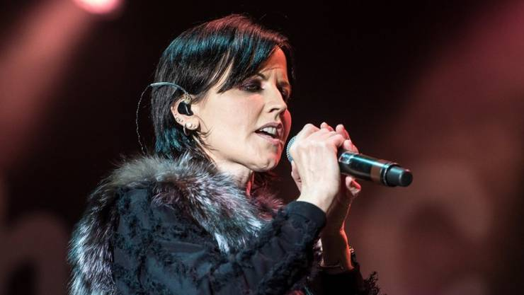 Dolores O'Riordan bei einem Konzert am 1. Mai 2017 in Polen.