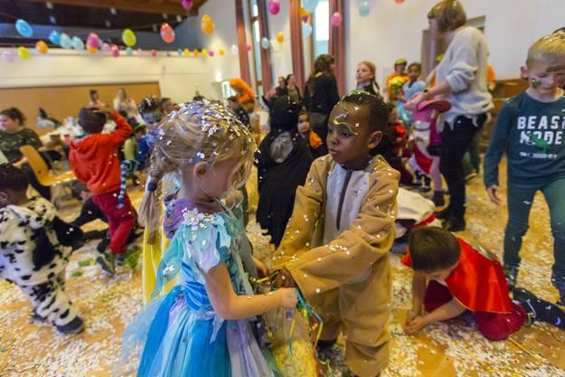 Impressionen von der Kinderfasnacht im Pfarreizentrum St. Agatha in Dietikon am 6.2.2019.