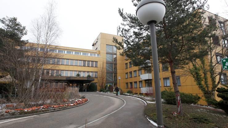 Spital Grenchen. Bild:  Hanspeter Bärtschi
