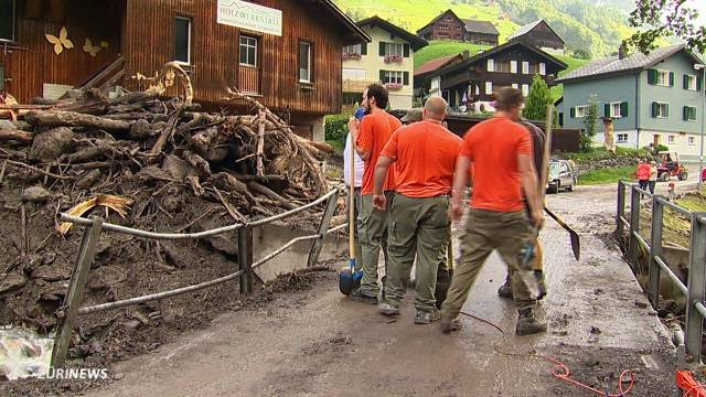 Unwetter in der Ostschweiz