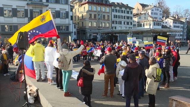 Venezuela-Demo nun auch in Zürich