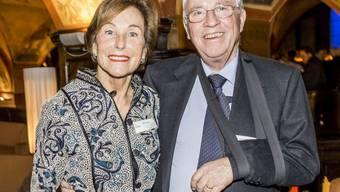"""Alt-Bundesrat Christoph Blocher und seine Frau Silvia sind für eine """"Glory""""-Trophäe in der Sektion """"Style"""" nominiert. Dafür qualifiziert haben sie sich mit ihrer paradiesischen Gartenanlage in Herrliberg. (Archivbild)"""