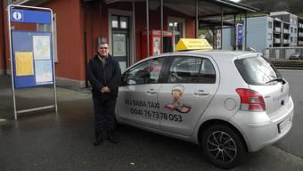 In einem Taxi von Ali Kücükbas kam am Wochenende ein Mädchen zur Welt.