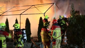 Brand im «Mi Casa Loca» in Villmergen – Lokal vollkommen zerstört (26.02.2019)