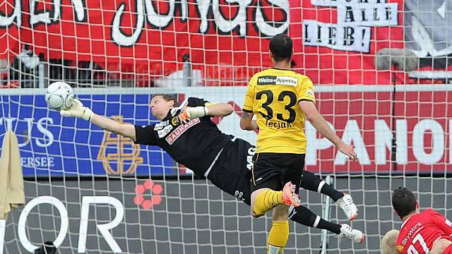 Wehrte einen Penalty ab: Marco Wölfli
