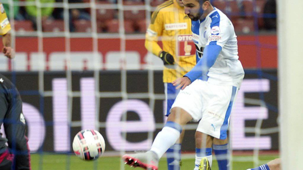 Munas Dabbur erzielt das 1:0 gegen Luzern
