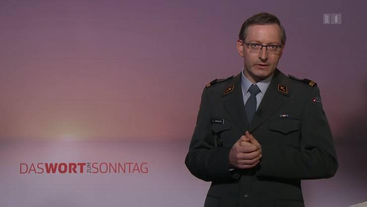 Armeeseelsorger und «Wort zum Sonntag»-Sprecher Urs Corradini.