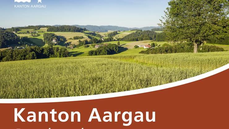 Strassenschild Kanton Aargau Ruedertal