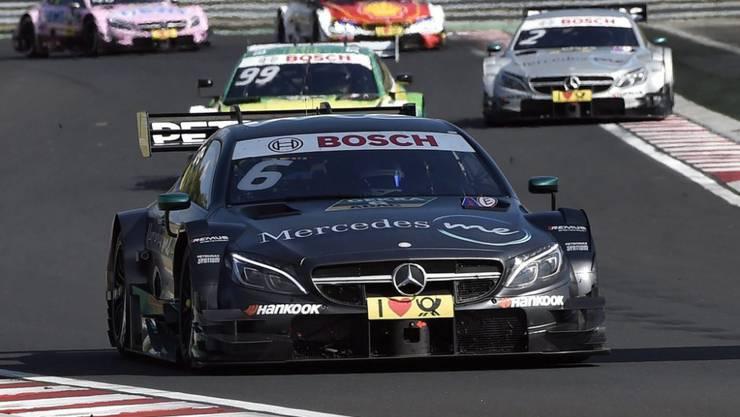 Bald ein Bild der Vergangenheit: Ein Mercedes führt das DTM-Feld an