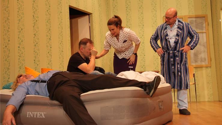 Der Theaterverein Stein zeigt im Januar die Komödie «Schlüssel für zwei».
