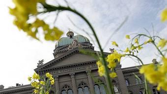 Das Bundeshaus in Bern