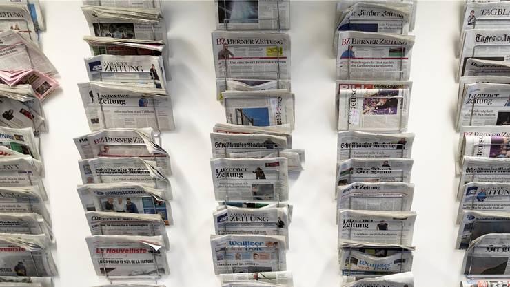 Der Verlegerverband fordert vom Bund, die Printpresse mit 90 Millionen im Jahr zu unterstützen.