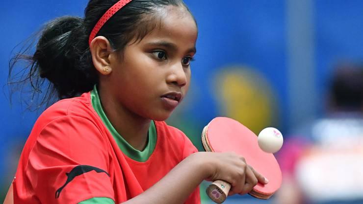 Fathimath Dheema Ali ist erst 10 Jahre alt - und spielt schon an der WM