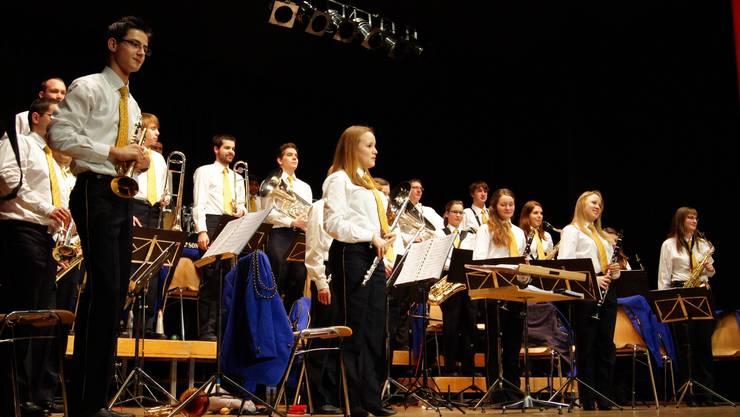 Die Stadtjugendmusik Schlieren bedankt sich für den Applaus