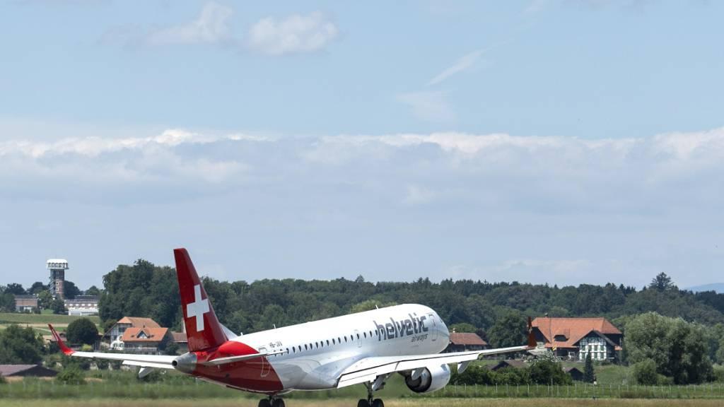 Helvetic fliegt neu auch ab Basel in die Mittelmeer-Region (Archivbild)