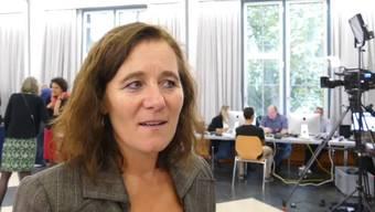 Franziska Roth übernimmt den einzigen SP-Sitz im Nationalrat. Ihr Vorgänger und Konkurrent Philipp Hadorn wurde abgewählt. «Als Parteipräsidentin ist es kein guter Tag, als Kandidatin ist es ein sehr guter Tag», sagt die Stadtsolothurnerin.