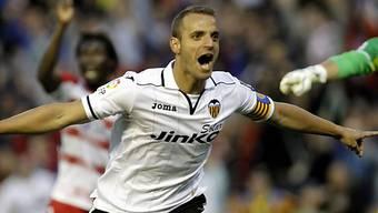 Valencias Matchwinner Roberto Soldado