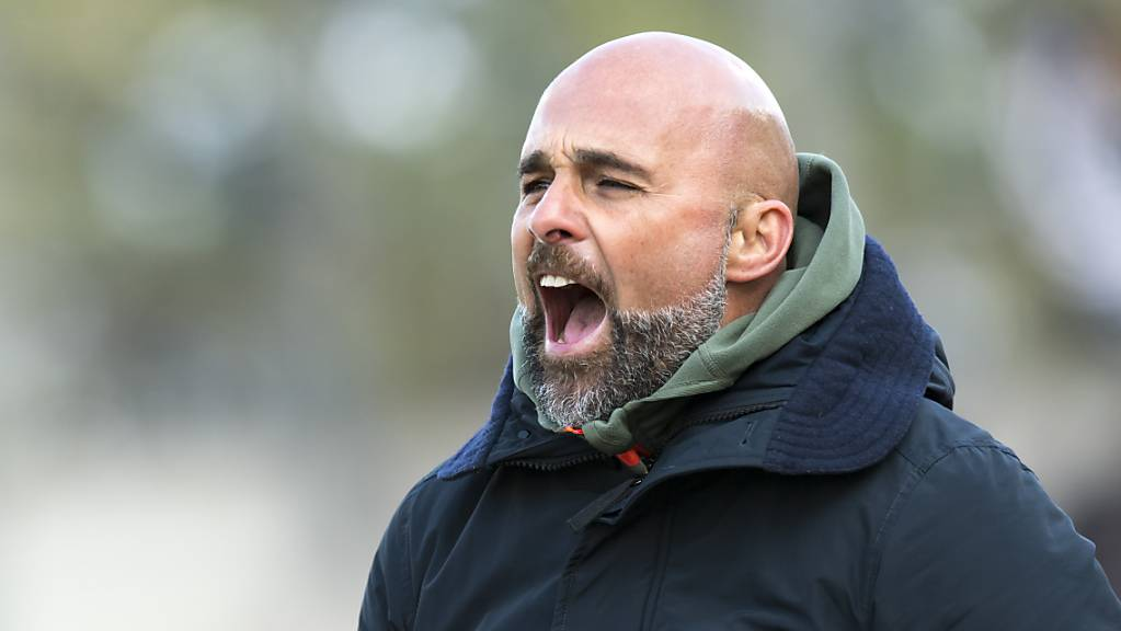 Für Lausannes Trainer Giorgio Contini zahlt sich das volle Engagement an der Seitenlinie aus.